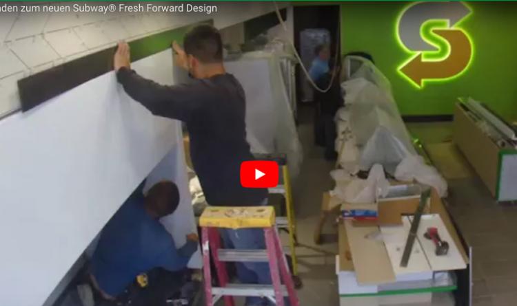 Den nya Subway® Fresh Forward designen på 90 sekunder